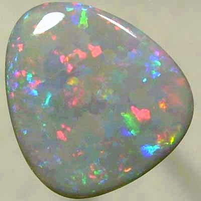 SOLID SEMI BLACK OPAL Very bright and sparkling play of colour, dancing fire. With VIDEO