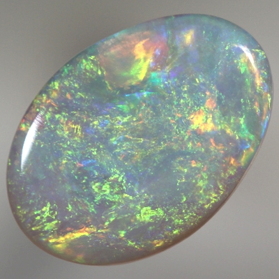 SOLID SEMI BLACK OPAL Never ending colour moves brightly  With VIDEO