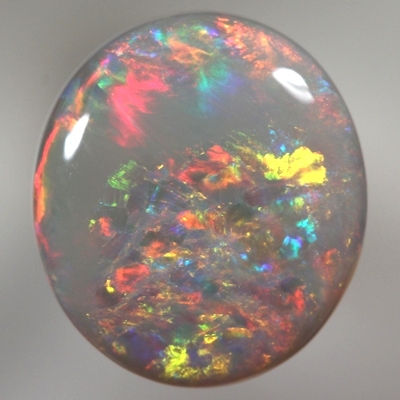 SOLID SEMI BLACK OPAL Bright sparkling Floral Harlequin pattern. SEE VIDEO