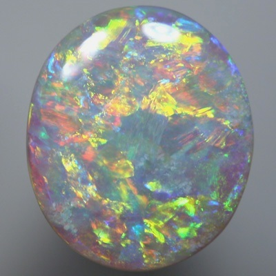 SOLID SEMI BLACK OPALS Want a matching pair? - see E0912B. Bright multicolours SEE VIDEO