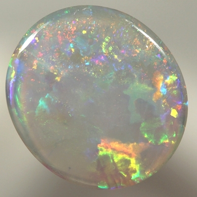 SOLID CRYSTAL OPAL Bright rolling flashes. With VIDEO