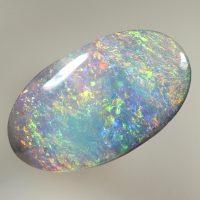 SOLID SEMI BLACK OPAL Bright sparkling multicolour