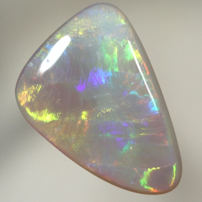SOLID SEMI BLACK OPAL Golden neon fire SEE VIDEO