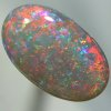 SOLID SEMI BLACK OPAL Sparkling Floral Harlequin pattern with bright, crispy fire. SEE VIDEO