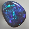 SOLID BLACK OPAL Bright strong fire
