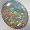 SOLID SEMI BLACK OPAL Very, very bright fire SEE VIDEO
