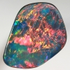 TOP QUALITY LIGHTNING RIDGE OPAL DOUBLET Large opal with full on reds SEE VIDEO
