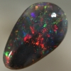 SOLID BLACK OPAL Crisp, bright and strong cherry red