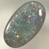 SOLID BLACK OPAL Sparkling bright Pinfire pattern SEE VIDEO