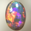 SOLID SEMI BLACK OPAL Very bright colours  rolling flashes. With VIDEO