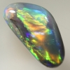 SOLID BLACK OPAL Bright rolling flashes SEE VIDEO