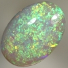 SOLID SEMI BLACK OPAL Bright, crisp fire in a 3D pattern