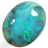 SOLID BLACK OPAL Gemmy forest green and turquoise green. SEE VIDEO