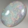 SOLID CRYSTAL OPAL Sparkling bright Pinfire pattern