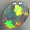 SOLID SEMI BLACK OPAL Large, bright rolling flashes