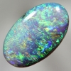 SOLID CRYSTAL OPAL Sparkling bright 3D pattern