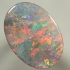 SOLID SEMI BLACK OPAL Picture of colour, full on fire. With VIDEO